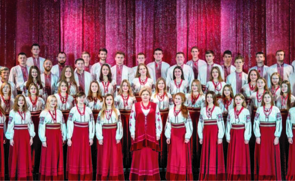 The Choir of Vinnytsia College of Culture and Arts M. Leontovych